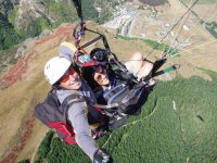 Selfie en el aire