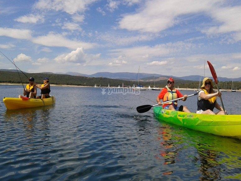 皮划艇钓鱼