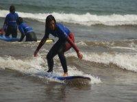 Curso iniciación surf en Asturias