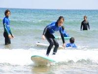 Monitores surf para niños