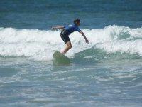 Clases surf diferentes niveles Gijón