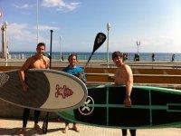 Paddle surf en Gijón
