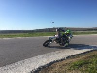 Conduciendo en moto