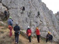 溪降Escalada攀登残疾人