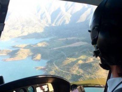 在马拉加飞机上进行首飞20分钟