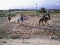 Clase conjunta de equitación