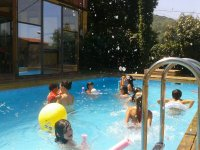 Gran chapuzón en nuestra piscina