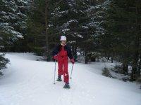 穿越科托斯港的雪鞋行走路线4小时