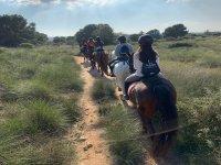 Excursión a caballo en Alicante