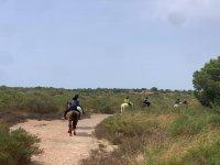 Ruta a caballo en Alicante