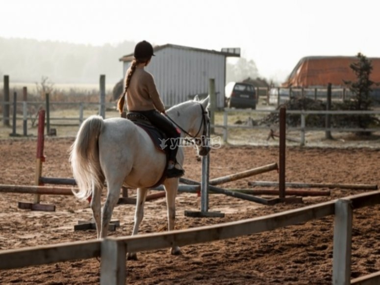 Riding in Chiclana