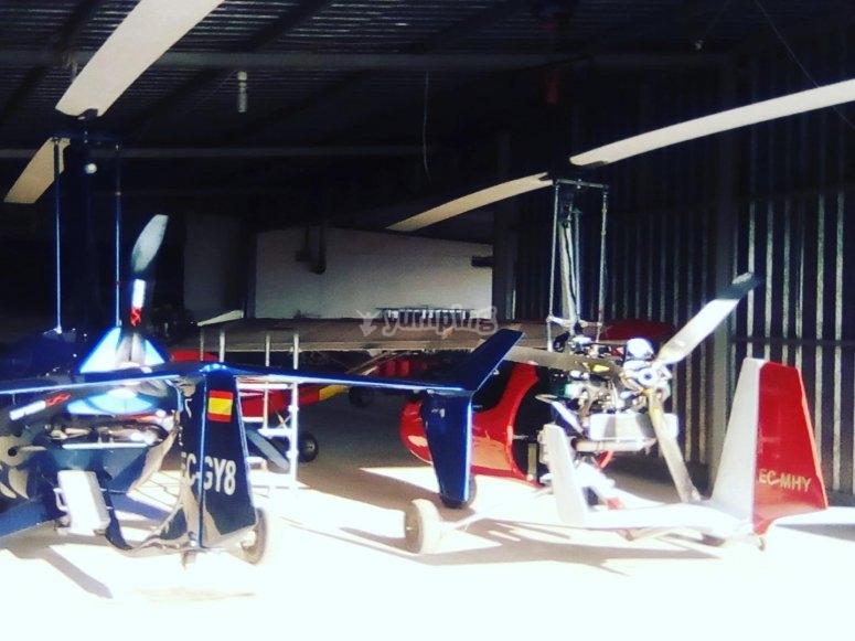 拉卢萨的飞机