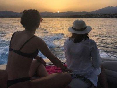 Alquier de barco con patrón en Marbella 8 pax 2 h