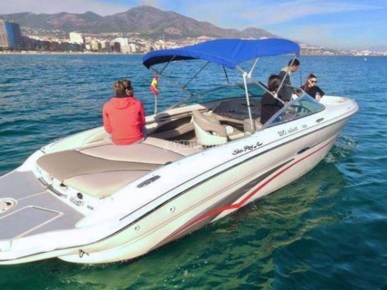 Marbella en barco