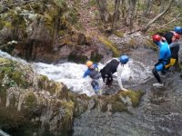 Slide in the ravine