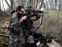 recreate a military battle