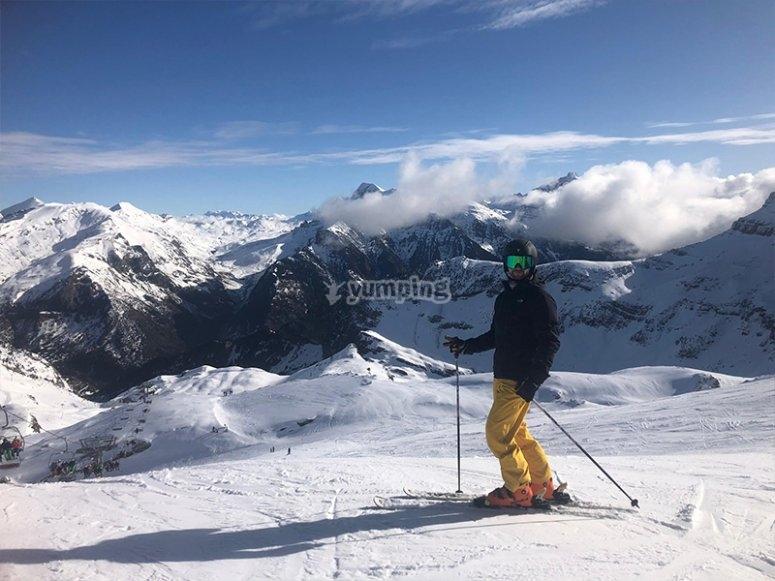 享受滑雪课的改进