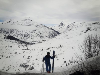 改善滑雪课程在Astún3h