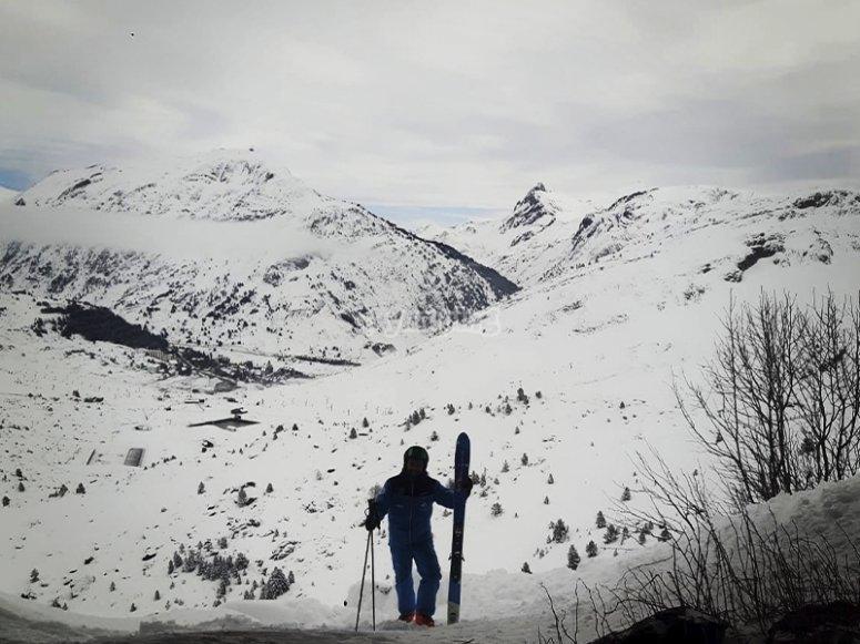 享受一些滑雪课
