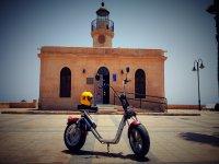 Moto electrica en Roquetas