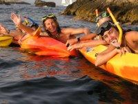 Snorkel de cerca