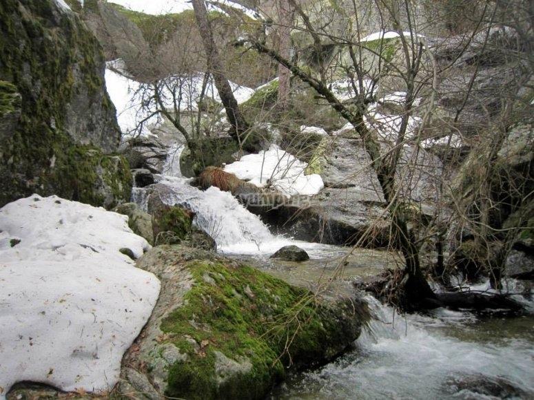 Cascadas de la ruta del Canal de Mesto