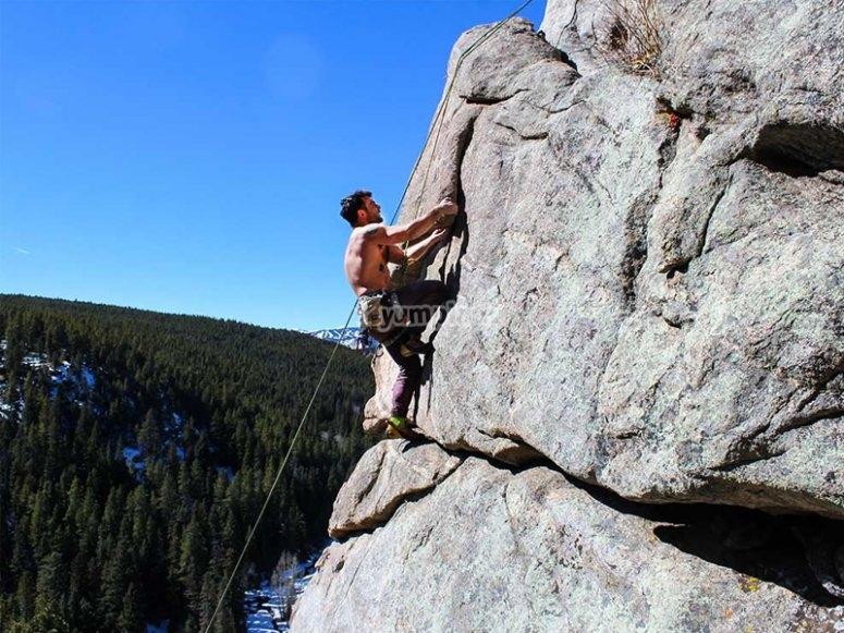 Jornada de escalada