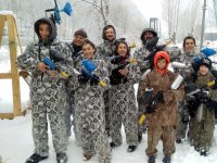 Paintball in inverno