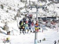 我们采取舒适的轨道滑雪场所以你可以学习