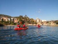 Kayak en río Mijares
