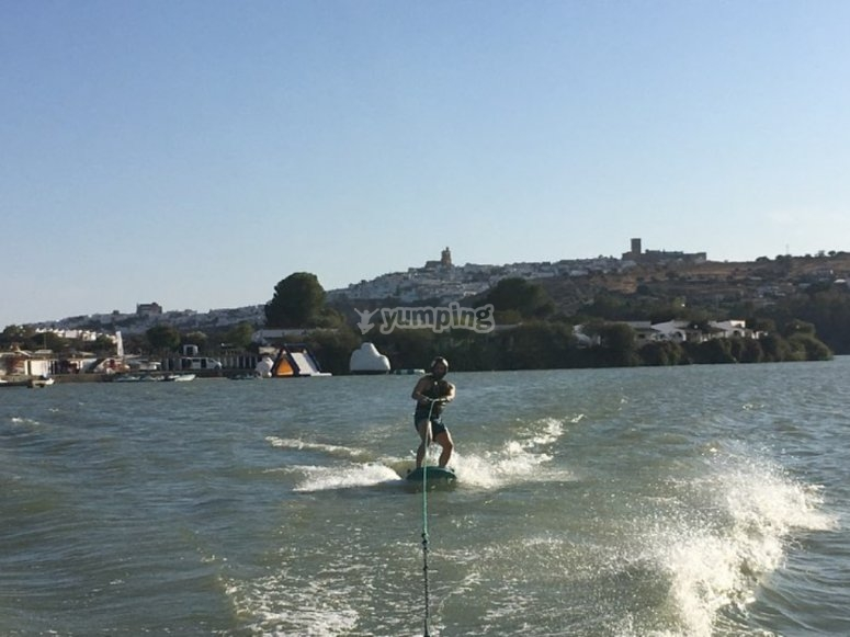 Wakeboarding a Cadice