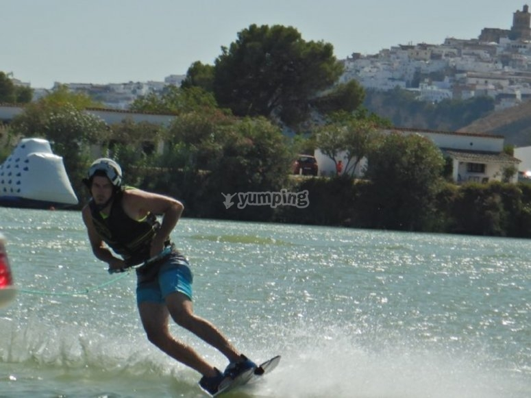 Wakeboarding nella Sierra de Grazalema
