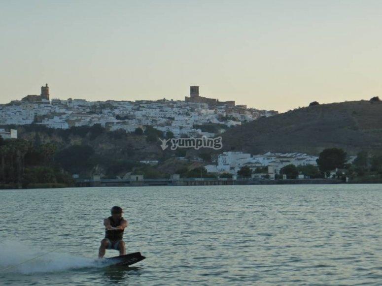 Wakeboard nella Costa de La Luz