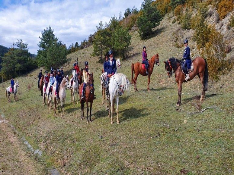 Gita equestre in Navarra