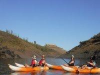 Percorso in kayak attraverso il bacino idrico di Rumblar 3 ore