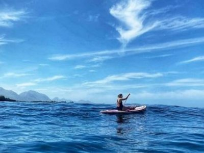 Clase de paddle surf en Llanes 2 horas