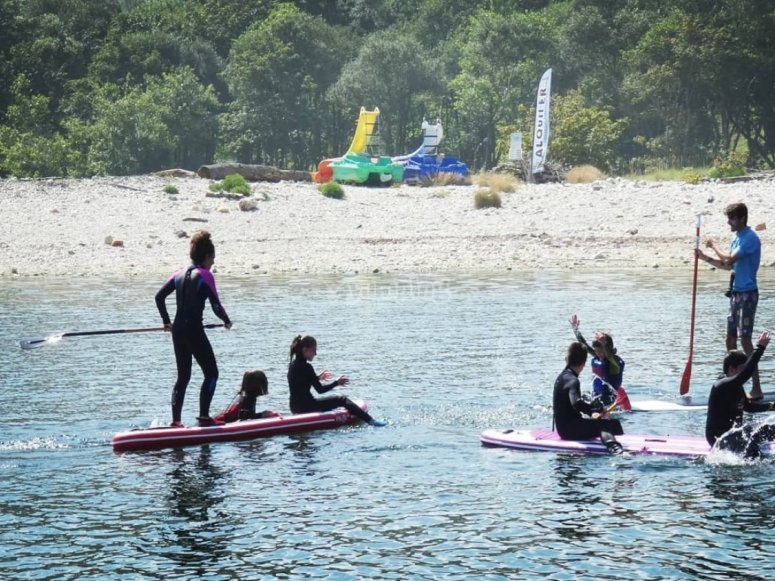阿斯图里亚斯的桨冲浪租赁