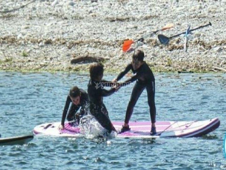 大桨冲浪板