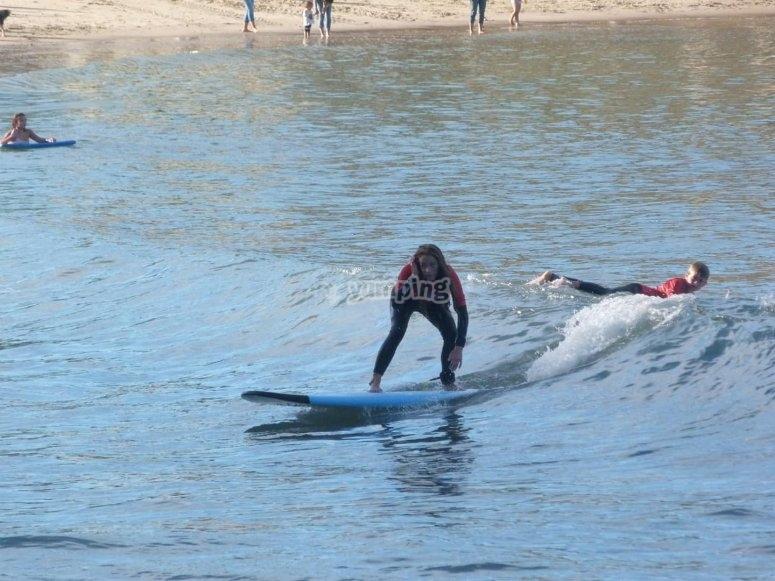 Clases particulares de surf