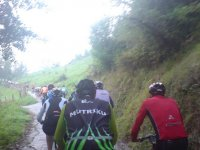 Activity in mountain bike