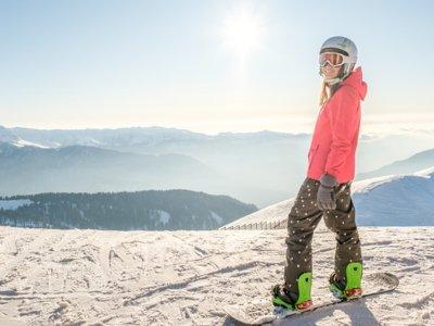 艾萨坎丹丘的私人滑雪板课程
