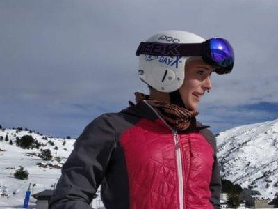 Clase de esquí particular en Candanchú en Aísa