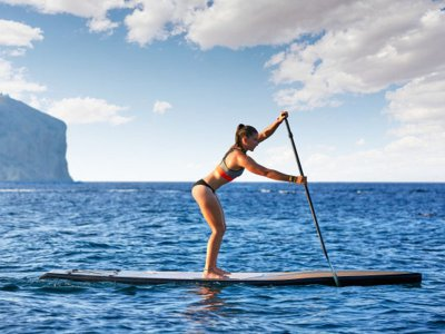 1h full SUP equipment rental in Almería