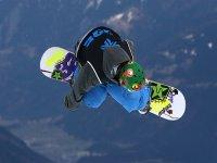 Snowboard nello snowpark