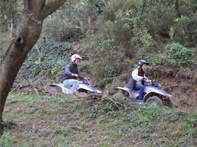 两人座四轮路线Montnegre Natural Park 1h