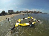 Scuola estiva di paddle surf
