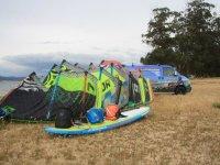 Attrezzatura per kiteboarding
