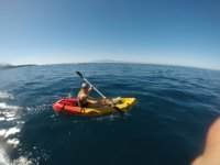En kayak individual en Tenerife