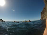 Salida en kayak por la isla de Tenerife