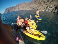 Travesia en kayak en Tenerife